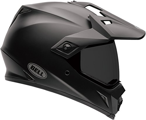 Bell MX-9 Adventure MIPS Full-Face Motorcycle Helmet (Solid Matte Black, - Domain Pads Cheek
