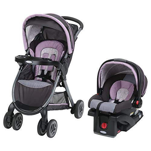Graco FastAction Fold Click Connect Travel System Stroller, Janey