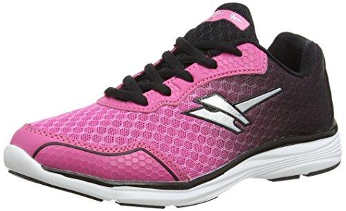 GolaVALLIS - Zapatillas de running mujer, color Rosa - rosa (rosa/negro), talla 36 EU(3 UK)