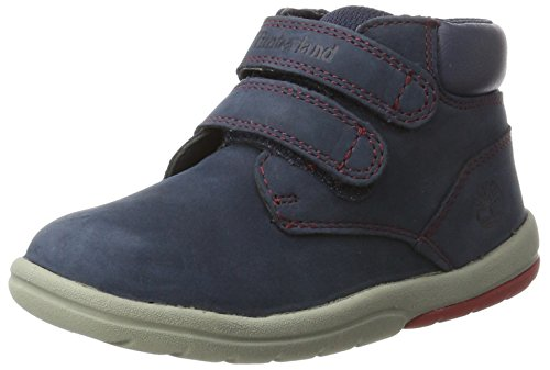 Timberland Unisex-Kinder Toddle Tracks Stiefel Blau (Outerspace)