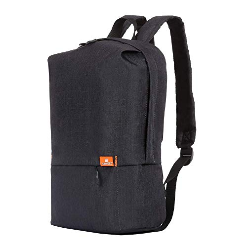 Travel Backpack School Student Bookbag Classic Anti-Theft Backpack Women & Men Waterproof Minimalist Urban Backpack Leisure Chest Pack for Business iPad Tablet Cell Phone Etc (Black)