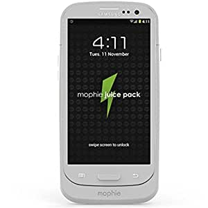 mophie juice pack for Samsung Galaxy SIII (2,300mAh) - White (Discontinued by Manufacturer)