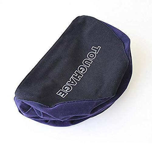 LQmoney Cojín mágico portátil inflable Almohada de semicircular Apoyo de Almohada profundidad Almohada de viaje de PVC para los amantes 3fe8ec