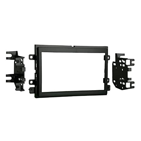 Metra 95-5812 Double DIN Installation Kit for Select 2004-up Ford Vehicles -Black (2008 Ford Expedition Stereo)