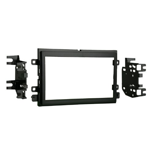 Metra 95-5812 Double DIN Installation Kit for Select 2004-up Ford Vehicles -Black (Ford Freestar Sel)