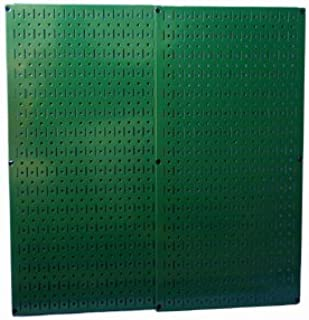 product image for Green Metal Pegboard By Wall Control - 2 Pack