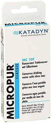 KATADYN purificación de Agua Micropur 10t, Blanco, 50.201: Amazon ...