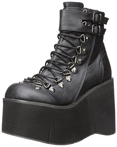 Demonia Kera Leather 21 Blk Vegan qf4ZraXfnw
