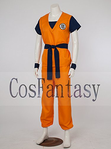 CosFantasy Unisex Cosplay Son Goku Turtle senRu Costume mp002565 (S)
