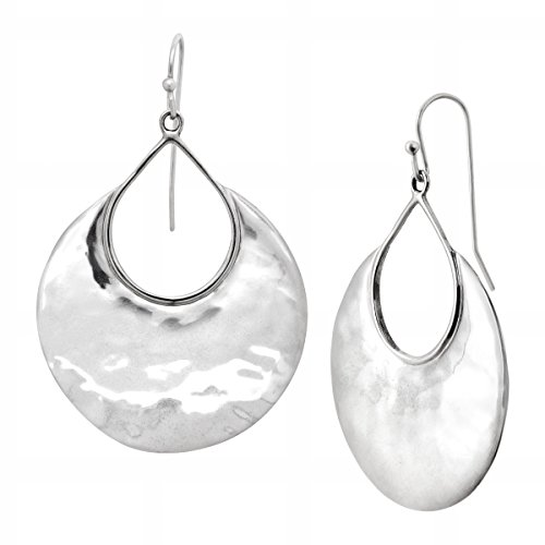 Silpada'sterling Silver Crescent Drop Earrings