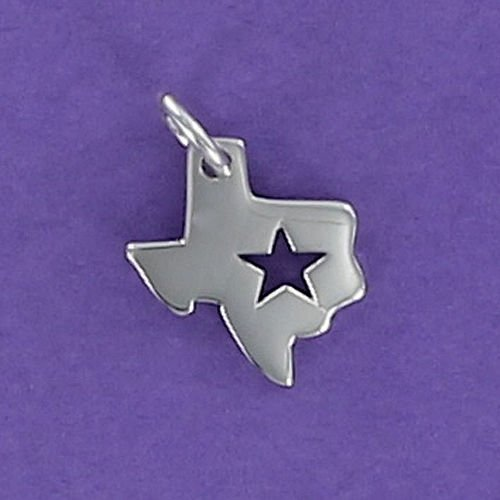 Outline Sterling Silver Charm - 5