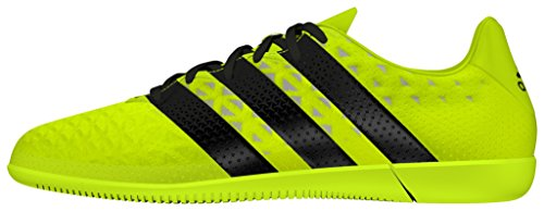 adidas Ace 16.3 In J, Botas de Fútbol para Niños Amarillo (Amasol / Negbas / Plamet)