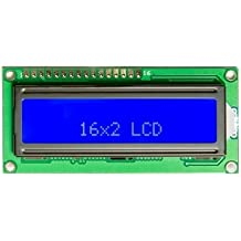 16x2 Blue LCD Module Controller HD44780 Based For Arduino by Corpco