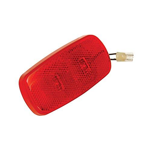 Bargman 42-59-410 Side Marker Light (LED Lens Upgrade Module - Red)