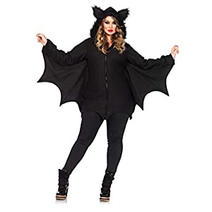 Leg Avenue Women's Plus-Size Cozy Bat Costume