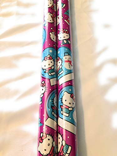 Hello Kitty Holiday Wrapping Gift Paper - 20 sq ft ()