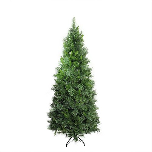 Mixed Pine Artificial Tree (Northlight Unlit Atlanta Mixed Cashmere Pine Medium Artificial Christmas Tree, 7.5')