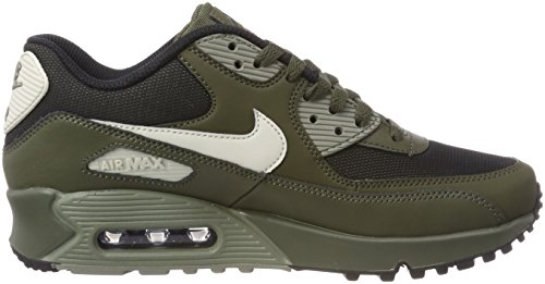 Nike Air Max 90 Essential, Chaussures de running homme Multicolore (Cargo Khaki/Light Bo 309)
