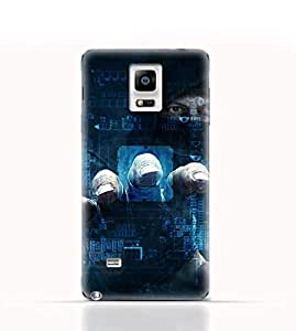 Samsung Galaxy Note 4 TPU Silicone Case with Dangerous Hacker Design