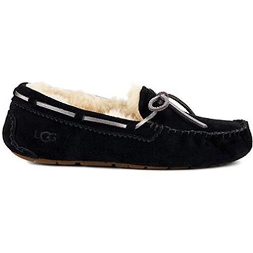 UGG Womens Dakota Metallic Slipper in Black UK4/US6
