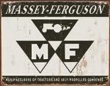 Massey Ferguson Logo Tin Sign 16 x 12in offers