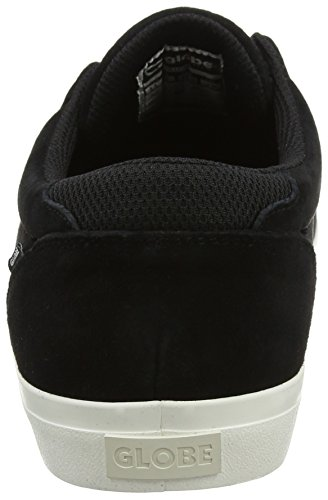 Homme Skateboard Globe Chaussures Schwarz de Black Willow qIqw1xaCF