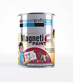 Magnetfarbe, Extreme Haftkraft, Allergikerfreundliche Wandfarbe Für  Innenräume, Ohne Konservierungsmittel Grau, 2Liter