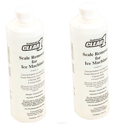 Scotsman 19-0653-01 Clear1 Cleaner 16oz (2 Pack) (Scotsman Ice Machine Cleaner)