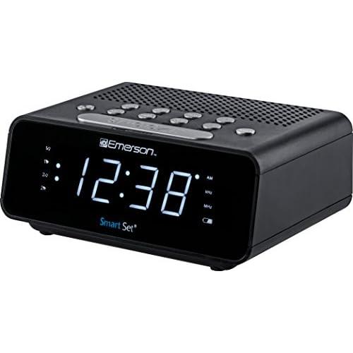 Emerson ER100101 SmartSet Alarm Clock...