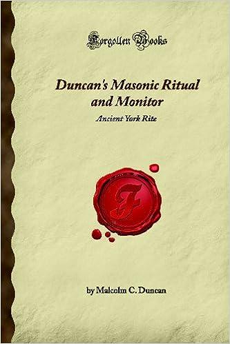 Masonic Ritual Book