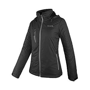 Baleaf Women's Windproof Waterproof Ski Mountain Jacket Insulated Winter Coat Outdoor Windbreaker with Hood
