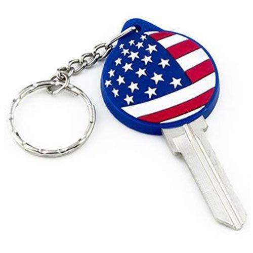 KABA ILCO PVC-05-AMERICAN FLAG-SC1 PVC05 SC1 Amer Flag Key ()