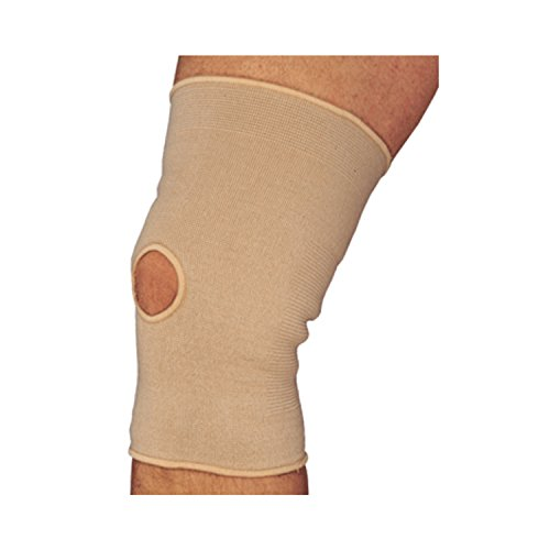 Truform-OTC Knee Sleeve, Compression Support Brace, Open Patella Kneecap, 12 Inch, X Small