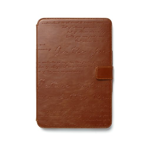 Zenus Lettering Diary High End Synthetic Leather Carrying...
