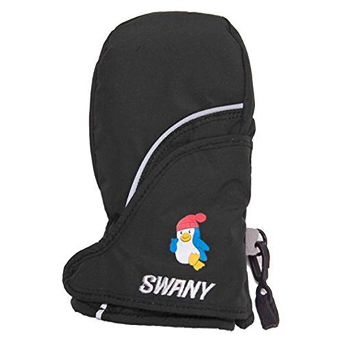 Swany Zap Mitt - Toddler's Black Small by SWANY