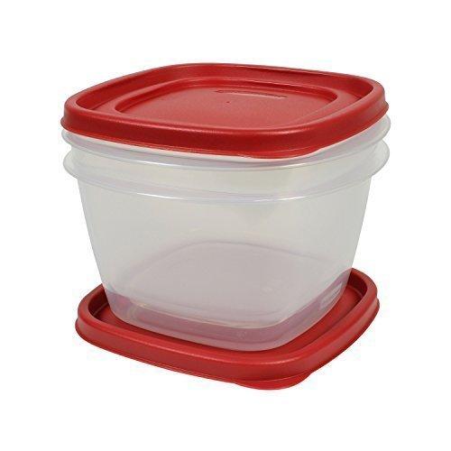 Rubbermaid Easy Find Lid Food Storage Set, 7 Cup, 2 Piece Se