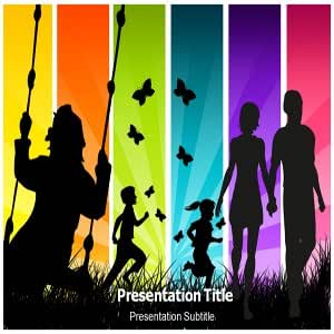 Happy Family Powerpoint Templates - Happy Family Powerpoint Backgrounds