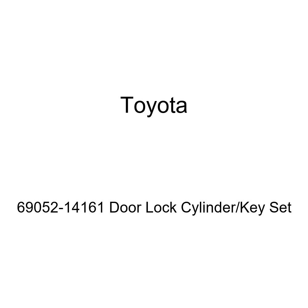 Genuine Toyota 69052-14161 Door Lock Cylinder//Key Set