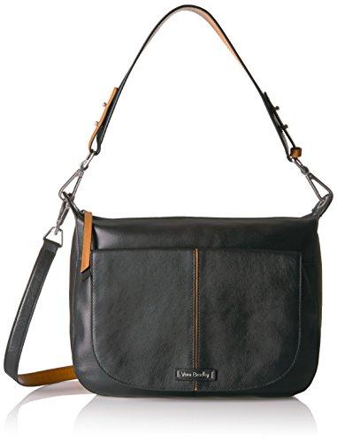 Vera Bradley Carson Shoulder Bag Grain Leather by Vera Bradley