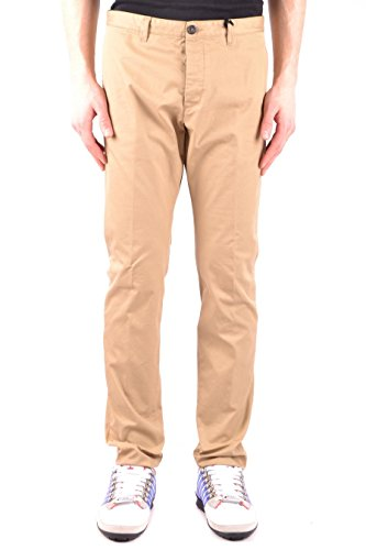 DSQUARED2 Men's S71kb0074s41794154 Beige Cotton Pants (Dsquared2 Casual Pants)