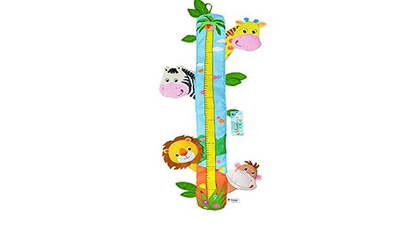 WillowswayW Cartoon Animals Wall Sticker Kids Height Measure Ruler Nursery Home Decal Children Growth Chart 1#