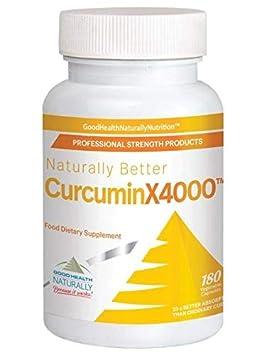 Curcumin X4000 180 Vegetarian Capsules