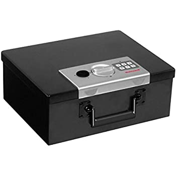 small fireproof safe alert 3035df deluxe digital security box 28418