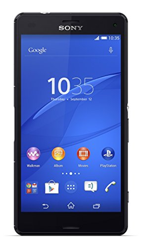 Sony Xperia Z3 Compact D5803 16GB 4G LTE Unlocked GSM Android Smartphone - Black (Sony Camera Docking Station)