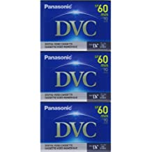 3 Mini DV MiniDV TAPE for Panasonic AG-DVX100BE DVX-100