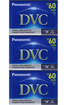 Replacement by Panasonic Sony DCR-TRV33 Camcorder 60 Minutes Mini DV Video Cassette