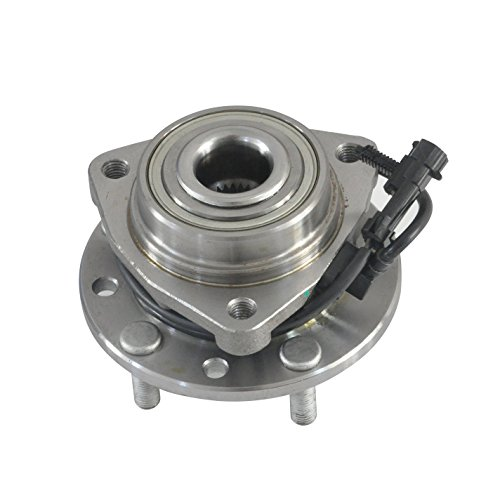 4WD Only DRIVESTAR 513124 New Front LH or RH Hub Bearing Assembly for 4X4 w/ABS GMC Chevy GM Trucks (Chevy Blazer Wheel Bearings)