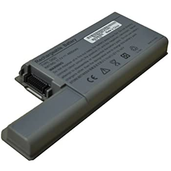 9-Cell DELL Latitude D820 D830 D531 Replacment Battery fits 3120394 3120538 XD735 XD736 YD624 DF230 DF249 FF231 0MM160 312-0538 MM165 312-0538 310-9123 [6600 mAh]