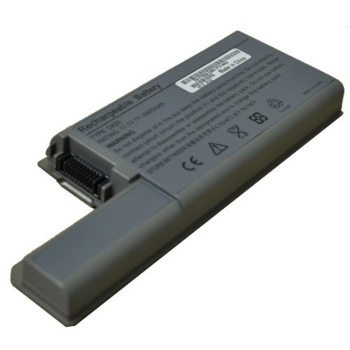Laptop Replacement Battery, High Capacity 9 cells, for Dell Latitude D531 D531N D820 D830, Precision M4300 Mobile Workstation, Precision M65 , Replacement for 310-9122 312-0393 312-0401 451-10308 451-10326 451-10410 DF192 DF230 DF249 FF232 GX047 XD736 YD624 YD626 CF623