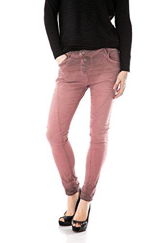PLEASE pantalon baggy jeans Rose t91 P78a femme 7qwz1Ur7gn